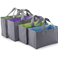 Expandable Shopping Trolley Bags / Totes - Pack of 4