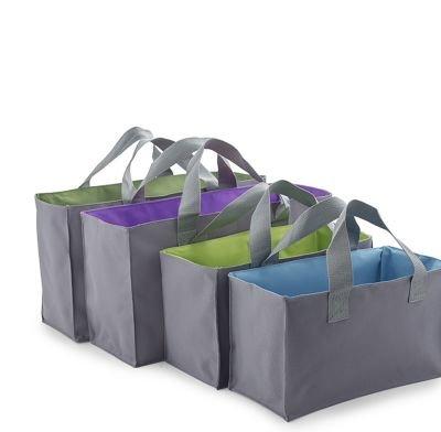 2-in-1 Taschenset für den Einkaufswagen