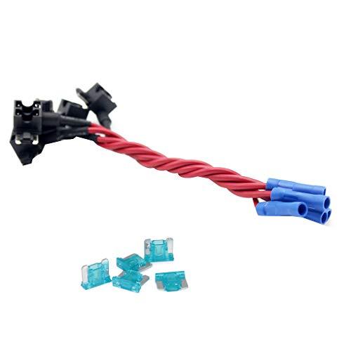 IMHERE W U 12V Auto-Add-a-Schaltung Fuse ACN TAP Adapter Low Profile Blade-Art-Sicherungshalter-Kästen Atc Mini Blade Fuse
