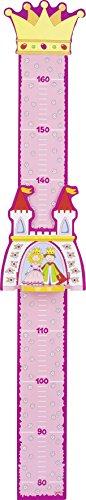Goki 60799, metro da parete per l'altezza dei bambini, tema: principe e principessa