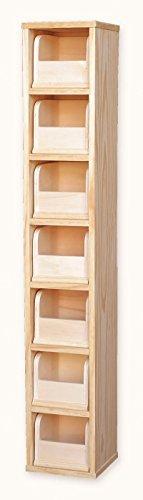 Muebles Natural – Archivador de madera natural...