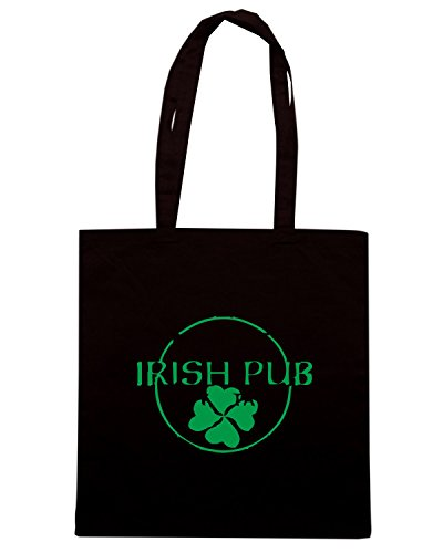 T-Shirtshock - Borsa Shopping TIR0004 irish pub Nero