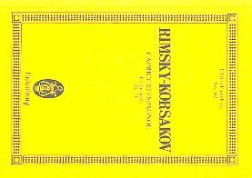 Capriccio Espagnol Op.34 Poche