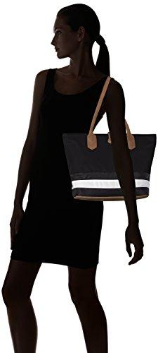 Sansibar - Sansibar, Borsa a tracolla Donna Mehrfarbig (Black/White/Cognac)
