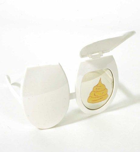 Preisvergleich Produktbild Klo-Brille,  Scherz-Brille