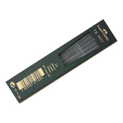 Faber-Castell 127102 - 10 Fallminen TK 9071, Minenstärke 2 mm, Härtegrad 2B