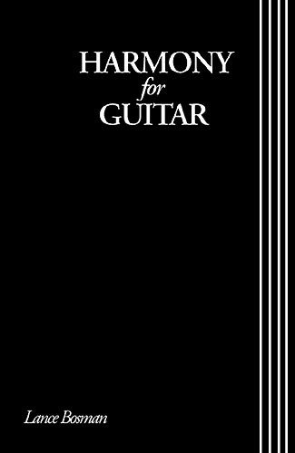 Harmony For Guitar. Partitions pour Guitare