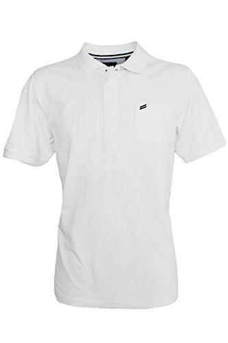 Daniel Hechter Regular-Fit Piqué Polo-Shirt in 5 Farben Weiß