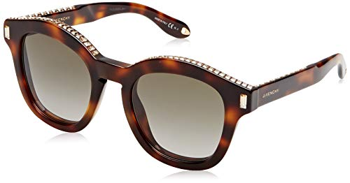 Givenchy Damen GV 7070/S HA 086 Sonnenbrille, Braun (Dark Havana/Brown), 50