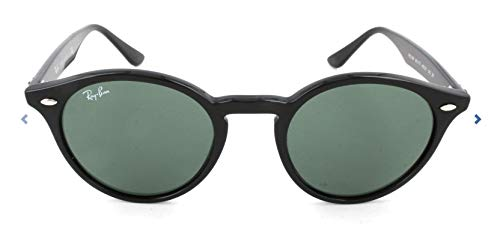 Ray-Ban Unisex Sonnenbrille Rb 2180 Gestell: schwarz Glas: grau/grün 601/71, Small (Herstellergröße: 49)