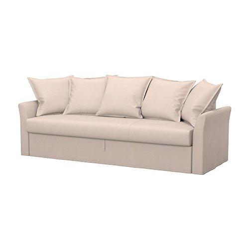 Soferia - IKEA HOLMSUND Funda para sofá Cama de 3 plazas, Eco...