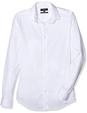 New Look Herren Businesshemd Super Slim