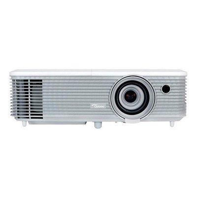 Optoma EH400 DLP Projektor (1080p Full HD, 4000 Lumen, 22.000:1 Kontrast, 3D, Zoom 1,1x) weiß (Hd-beamer 4000 Lumen)