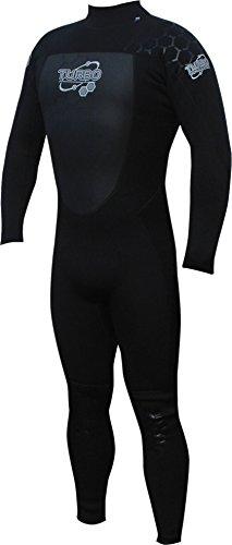 TWF Turbo Bleu - Traje para deportes acuáticos, color Negro, talla 2XL