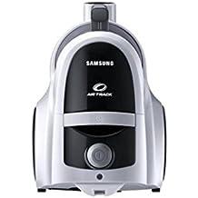 Samsung VCC45W1S3S/XET Aspirapolvere Twin Chamber Sweep senza Sacco, 190 Watt, Argento