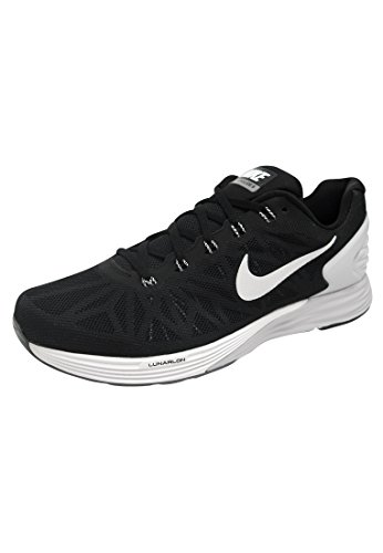 Nike - Lunarglide 6, Scarpe da corsa da uomo black - grey - white