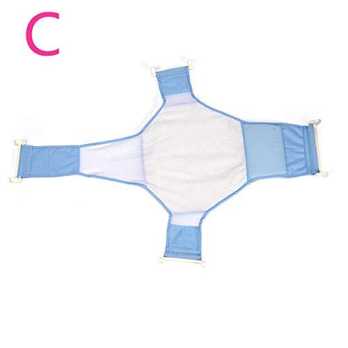 nulala baby badewanne unterstützung, babypflege einstellbare säuglingsdusche badewanne baby badewanne netz sicherheit sicherheit sitz unterstützung