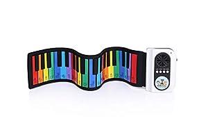 MAESTRO KIDS - Piano Enrollable (37 Teclas, diseño de la Patrulla Canina de la Patrulla Canina, Color Azul