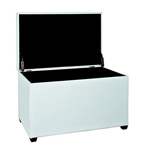 HAKU Möbel Sitztruhe weiß, 65 x 40 x 42