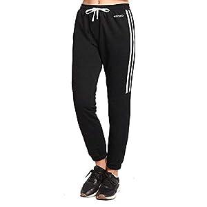 Ogeenier Damen Jogginghose mit Tasche für Sport Fitness Gym Laufen Training, Fußball Trainingshose Sweatpants Sporthose Jogger Pants
