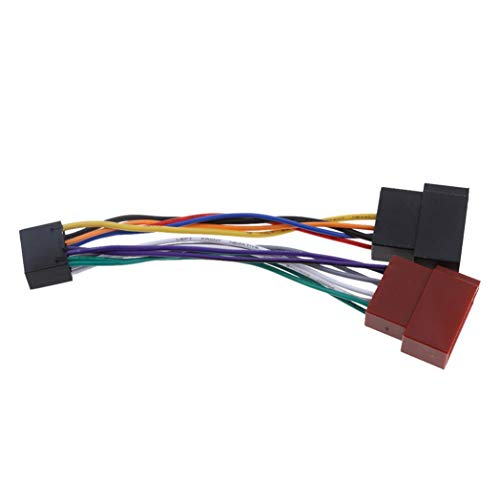 SeaStart Adaptateur de câblage ISO 16 Broches pour autoradio stéréo Kenwood/Jvc
