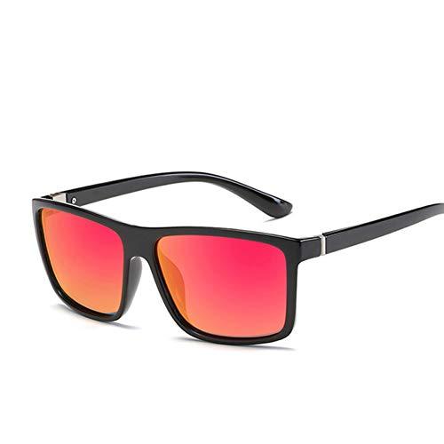 CCGSDJ Sonnenbrille Unisex Platz Vintage Sonnenbrille Berühmte Marke Sunglases Polarisierte Sonnenbrille Retro Für Frauen Männer