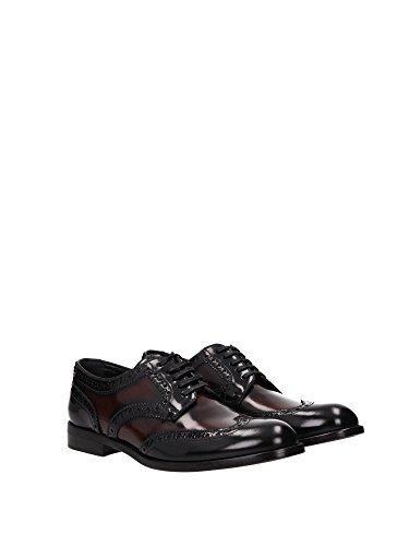C18572AP2158S479 Dolce&Gabbana Derby Femme Cuir Noir Noir