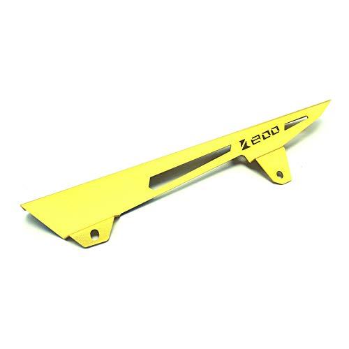 Amyove Protezione della copertura della catena del motociclo per Kawasaki ZR800 / Z800 13-16, Colore: Oro