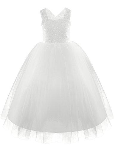 CHICTRY Blumenmädchenkleider Kleid Kinder Kleider Brautjungfern Festliches Hochzeit Party Kleid...