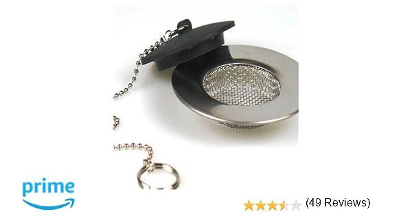 Grille Fine De Filtrage D Evier Lavabo Filtre Bouchon Amazon Fr