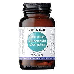 Viridian High Potency Curcumin Complex 30 veg caps