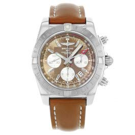 Breitling Chronomat GMT Chocolate Dial Steel Automatic Watch AB042011/Q589-437X