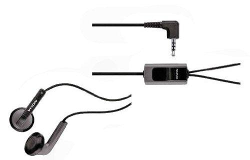 Original Nokia Handy Stereo Headset HS47 mit Anrufannahme und Mikrofon für Nokia Mobiltelefone mit 2,5 mm Audio Jack Nokia Jack