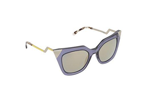 Fendi - occhiali da sole ff 0060/s mv occhi di gatto, donna, msu