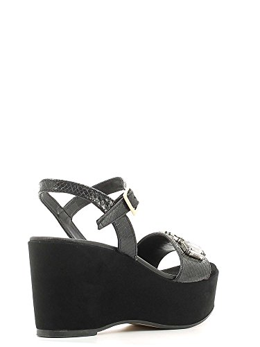 GRACE SHOES 1605F3 Sandalo zeppa Donna Argento
