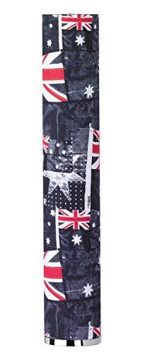 Fischer & Honsel Banner Stehleuchte, Metall, E14, 30 W, blau/weiß/rot, 19 x 19 x 110 cm (Blaue Weiße Banner Rote Und)