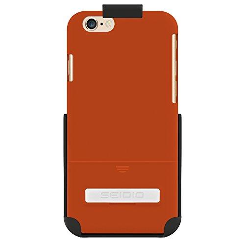 Seidio Surface Schutzhülle mit metallischenKickstand Combo für Apple iPhone 6 orange - Seidio Holster-design