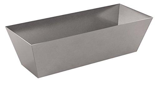 Bon 15-165 - Gaveta para hormigón (acero inoxidable, 25,4 cm)