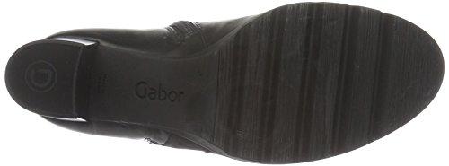 Gabor Shoes 55.783 Damen Kurzschaft Stiefel Schwarz (Schwarz 27)