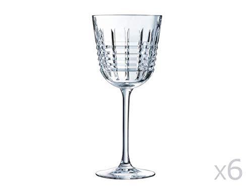 Cristal d'Arques AVE3618022 Verre, Cristallin, Multicolore, 30 X 20