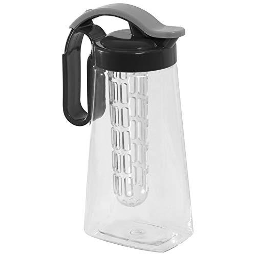 Infuser Getränkespender / Trinkflasche mit Fruchteinsatz / 1800 ml