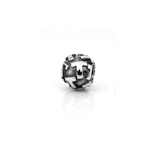 Akki Buchstabe Charms Beads für Armband Kette Angebot Perle Kompatibel Starter Alle Gold Silber Schmuck Letter Sternzeichen Liebe T