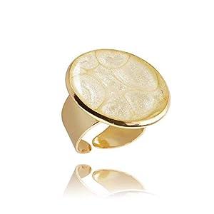 Bequem Elfenbein Vergoldet Ringe Geschenkbox für Damen; Lässig Creme Geburtstag Schmuck Dragon Porter; Verstellbar…
