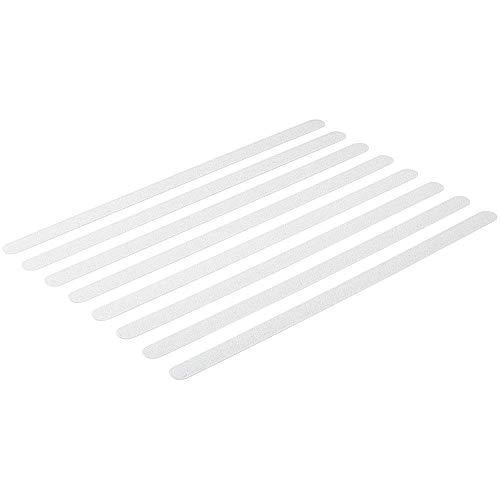 Anti-Rutsch Streifen für Dusche-n, Badewanne-n, transparent, selbstklebend, Rutsch-Schutz