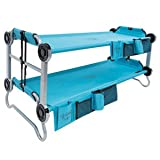 Kid-O-Bunk Kids' Portable Mobile Camping Bed, Blue, Size 12