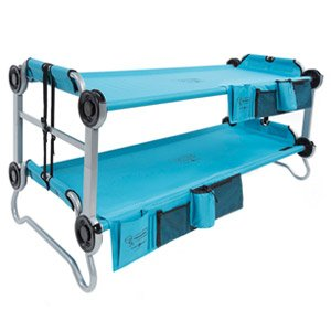 Kid-O-Bunk Kinder Tragbare Mobile Camping Bett M Blau