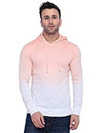 GRITSTONES Tan dye Hooded T-Shirt GSHDOMB2029-P