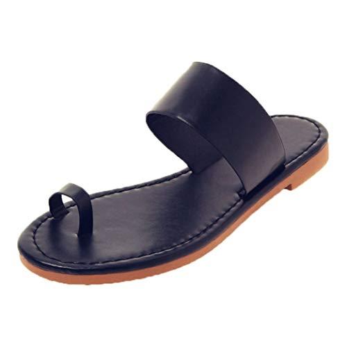 Frauen Flache Hausschuhe Sommer Niedriger Absatz Peep-Toe Slingback Gladiator Schuhe Casual Büro Im Freien Damen Slip-On Sandalen -