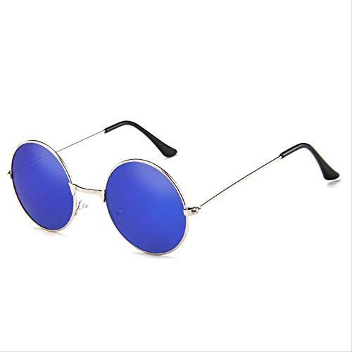 MJDL Unisex Sonnenbrille S/L Größe Vintage Retro Runde Rahmen Sonnenbrille Für Familie Unisex Kinder Shades Brillen Junge Mädchen Frauen Erwachsene T4