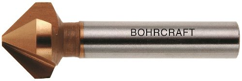 Bohrcraft Kegelsenker HSS-TiN DIN 335 C 90 Grad, 31 mm in QuadroPack, 1 Stück, 17010331090